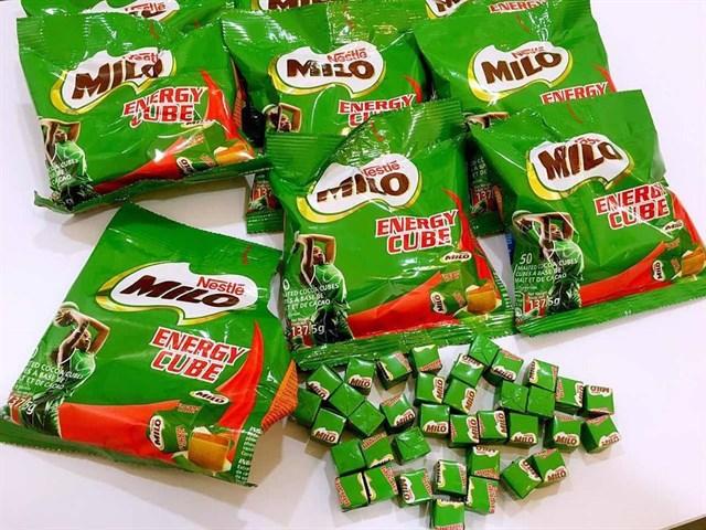 Kẹo Milo cube giá bao nhiêu
