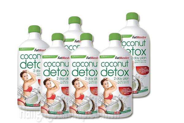 Nước uống Coconut Detox loại nước uống giúp giảm cân nhanh nhất năm 2018