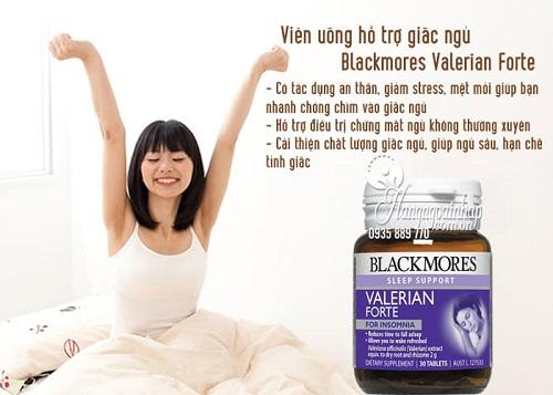 Viên uống hỗ trợ giấc ngủ Blackmores Valerian Forte có tốt không-2