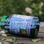 Uống thuốc bổ gan Milk Thistle Extract Puritan's Pride khi nào tốt nhất-1