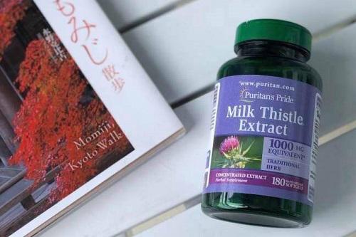 Uống thuốc bổ gan Milk Thistle Extract Puritan's Pride khi nào tốt nhất-3