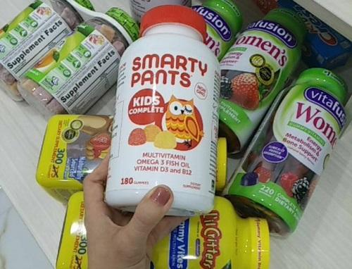 Cách sử dụng kẹo vitamin Smarty Pants Kids Complete-3