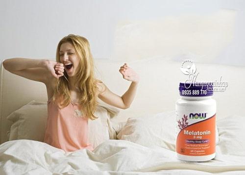 Công dụng của thuốc Melatonin 3mg Now-3