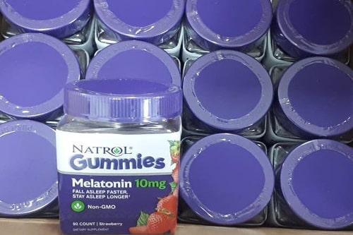 Kẹo dẻo Natrol Melatonin 10mg có tác dụng gì-1