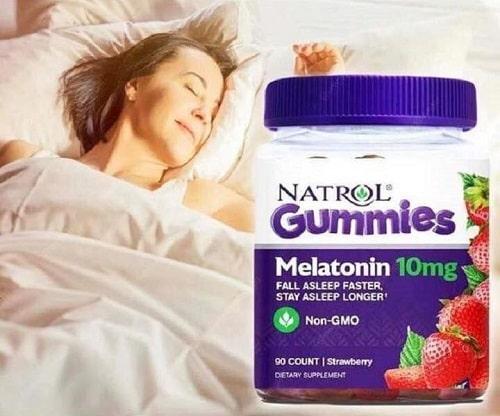 Kẹo dẻo Natrol Melatonin 10mg có tác dụng gì-3