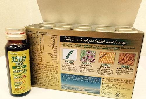 Uống tảo vàng dạng nước EX Spirulina có tác dụng gì-2