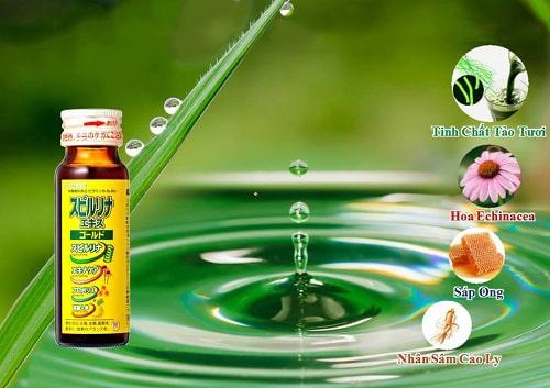 Uống tảo vàng dạng nước EX Spirulina có tác dụng gì-3