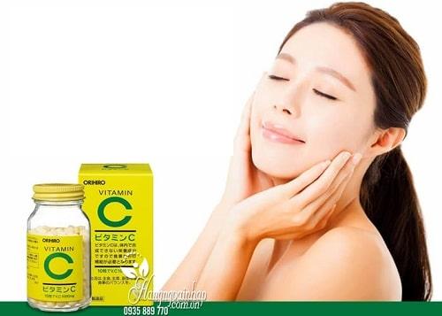 Uống vitamin C 1000mg Orihiro của Nhật có tác dụng gì-3