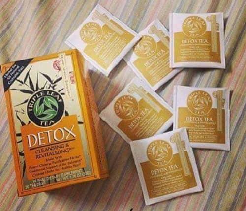 Trà thảo mộc Triple Leaf Detox có tác dung gi-2