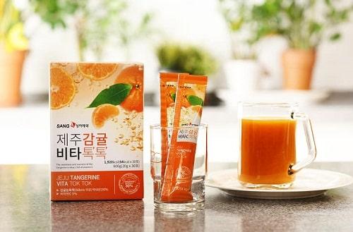 Nước ép quýt Sanga của Hàn Quốc có tốt không-3