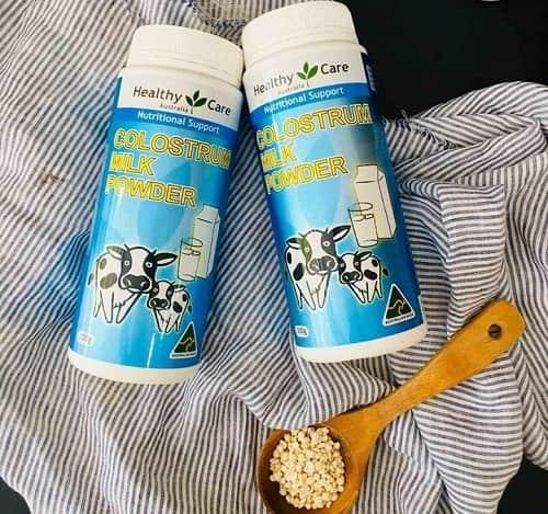 Công dụng của sữa bò non Colostrum Milk Powder-3
