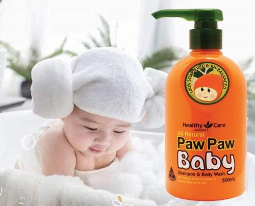 Giá sữa tắm gội Paw Paw Baby là bao nhiêu-1