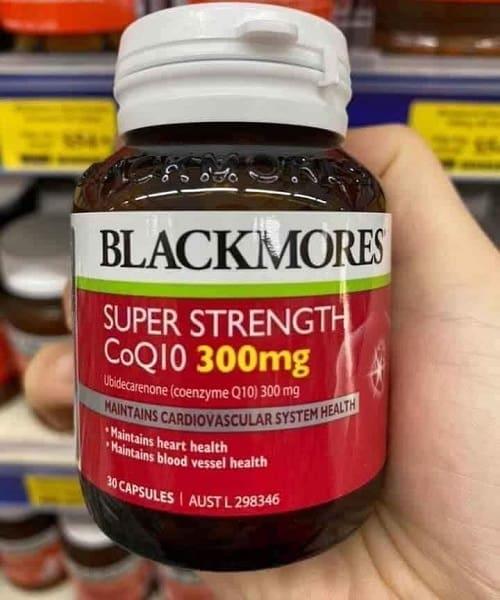Thuốc Blackmores Super Strength Coq10 300mg giá bao nhiêu-2