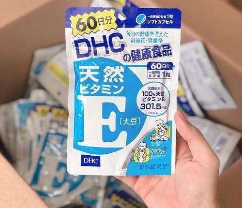 Viên uống vitamin E DHC có tác dụng gì-2