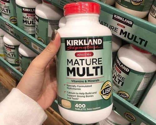 Vitamin tổng hợp Kirkland Mature Multi có tốt không-1