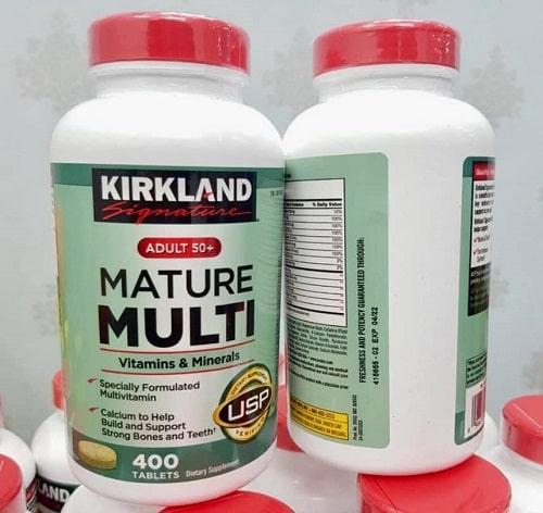 Vitamin tổng hợp Kirkland Mature Multi có tốt không-2