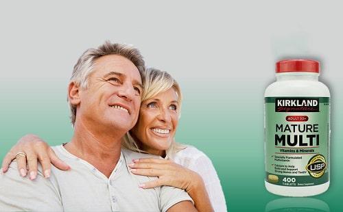 Vitamin tổng hợp Kirkland Mature Multi có tốt không-3