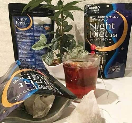 Trà giảm cân Orihiro Night Diet Tea cách sử dụng-2