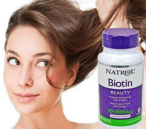 Natrol Biotin 10000mcg cách dùng?-1