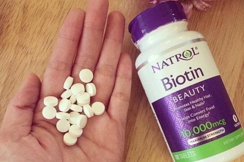 Natrol Biotin 10000mcg cách dùng?-3