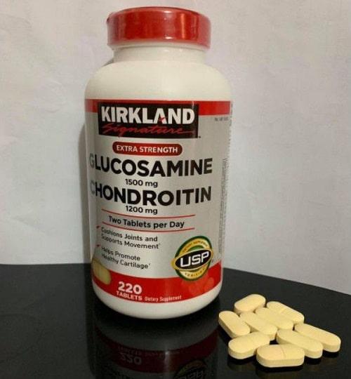 Cách sử dụng Kirkland Glucosamine Chondroitin của Mỹ-3