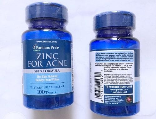 Zinc For Acne hàng giả phân biệt ntn? Mua ở đâu chính hãng?-2