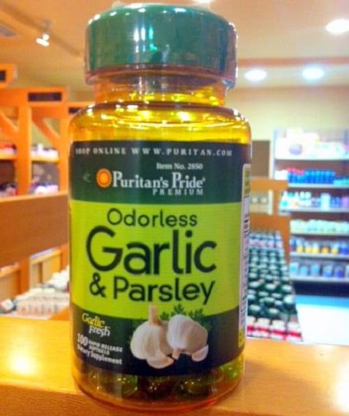 Puritan's Pride Odorless Garlic & Parsley có tốt không?-2