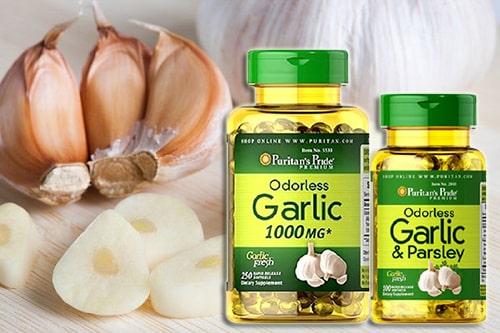 Puritan's Pride Odorless Garlic & Parsley có tốt không?-3