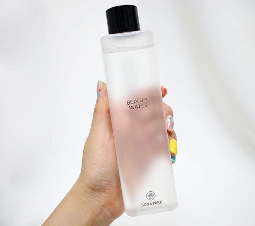 Review nước thần Son and Park Beauty Water-2